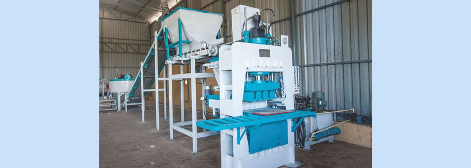 Interlocking Paver Block Machines